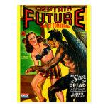 ¡Capitán Future - pavor de la estrella! Tarjetas Postales