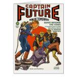Capitán Future Tarjeta