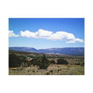 Capitan Gap Mountains New Mexico Canvas Prints