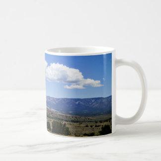 Capitan Gap Mountains New Mexico Classic White Coffee Mug