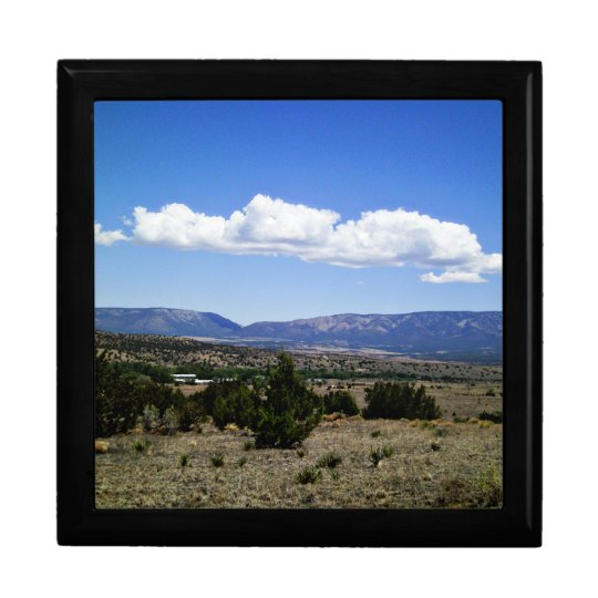 Capitan Gap Mountains New Mexico Gift Box