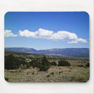 Capitan Gap Mountains New Mexico Mouse Pad