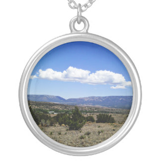 Capitan Gap Mountains New Mexico Personalized Necklace