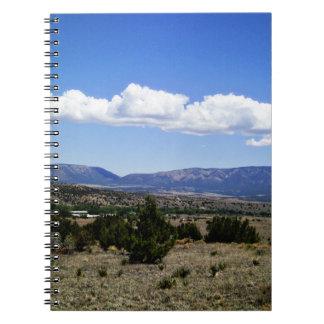 Capitan Gap Mountains New Mexico Notebooks
