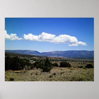 Capitan Gap Mountains New Mexico Posters