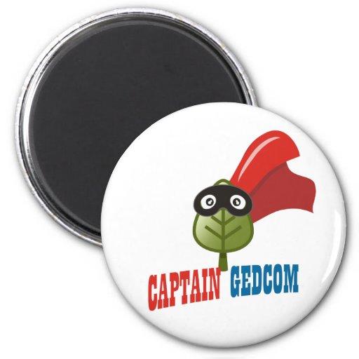 Capitán GEDCOM Imanes Para Frigoríficos