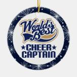 Capitán Gift Ornament de la alegría Ornamento Para Reyes Magos