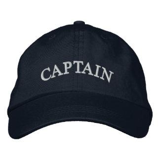 Capitán gorra bordado azules marinos gorra bordada