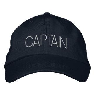 Capitán Hat - capitán del barco, regalo del yate,  Gorra De Beisbol Bordada