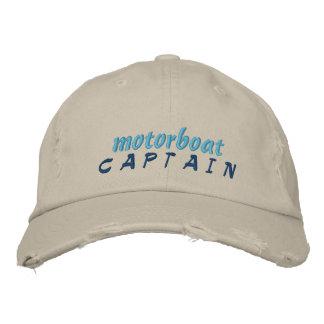 Capitán Hat de la motora Gorra De Béisbol Bordada