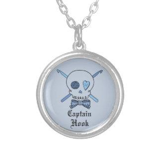 Capitán Hook Skull y ganchos de ganchillo (parte p Joyerias Personalizadas