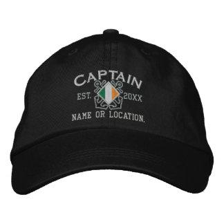 Capitán irlandés personalizado Nautical Embroidery Gorras De Beisbol Bordadas