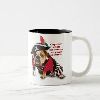 ¡Capitán Jack! Tazas De Café