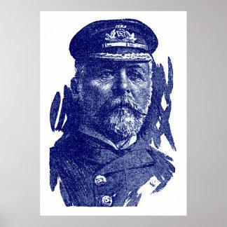 Capitán John Smith, HMS titánico Poster