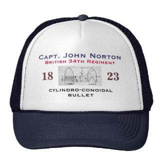 Capitán Juan Norton Gorras De Camionero