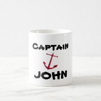 Capitán, JUAN Taza Básica Blanca