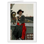 Capitán Kidd del pirata Tarjetas