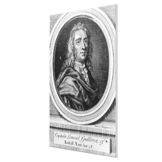 Capitán Lemuel Gulliver, 1726 Impresiones En Lona Estiradas
