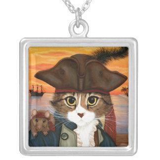 Capitán Leo, gato del pirata y collar del arte de