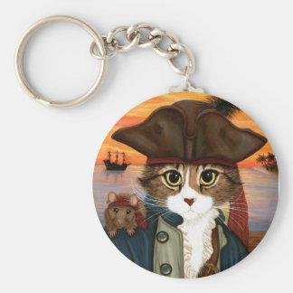 Capitán Leo, gato del pirata y llavero del arte de