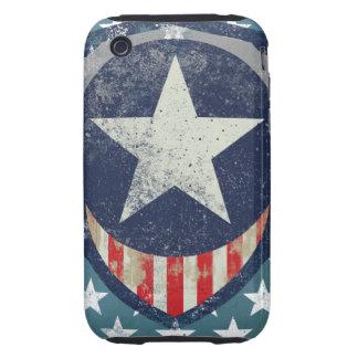 Capitán Liberty Case Tough iPhone 3 Cárcasas