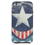 Capitán Liberty Case Funda De iPhone 6 Tough