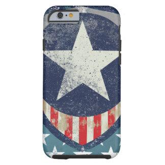 Capitán Liberty Case Funda Para iPhone 6 Tough
