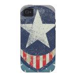 Capitán Liberty Case-Mate Case iPhone 4/4S Funda