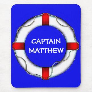 Capitán Lifesaver Art Tapete De Raton