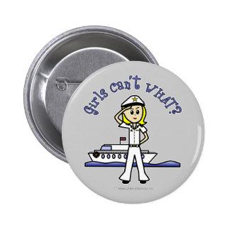 Capitán ligero Girl Pins