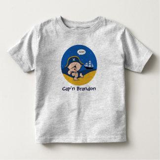 Capitán Light T-Shirt del pirata Playera
