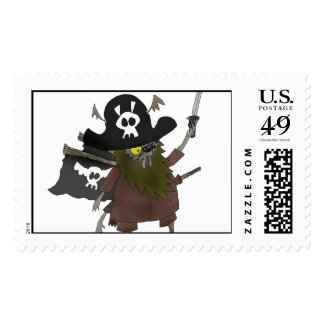 Capitán Maggot Postage Sello