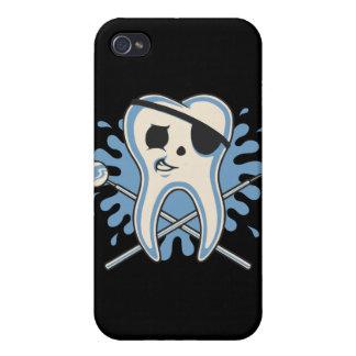 ¡Capitán Mol-Arrrr iPhone 4 Carcasa