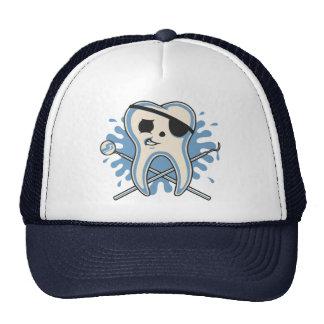 ¡Capitán Mol-Arrrr! Gorras De Camionero