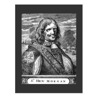 Capitán Morgan del pirata Tarjeta Postal