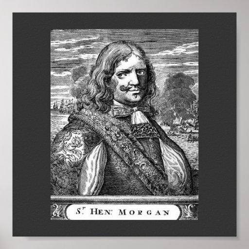 Capitán Morgan Poster del pirata