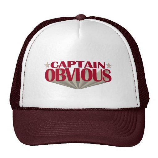 Capitán Obvious Gorra