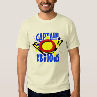 Capitán Obvious Playeras