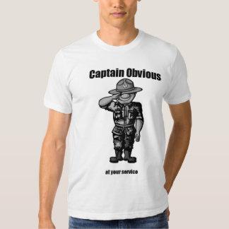 Capitán Obvious Remeras
