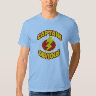 Capitán Obvious Shirts Polera
