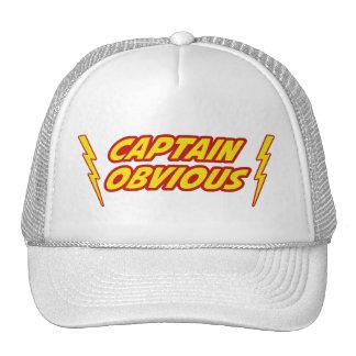 Capitán Obvious Superhero Gorra
