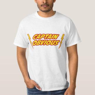 Capitán Obvious Superhero Poleras