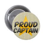 Capitán orgulloso pins