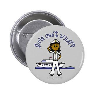 Capitán oscuro Girl Pins