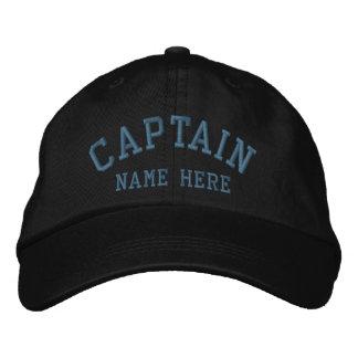 Capitán - personalizable del marinero gorras de beisbol bordadas