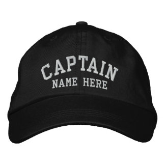 Capitán - personalizable gorra de beisbol