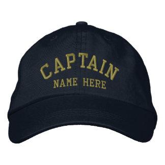Capitán - personalizable gorros bordados