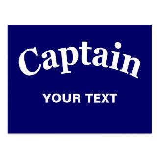 CAPITÁN - PERSONALIZABLE POSTAL
