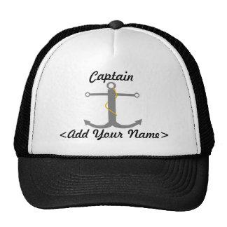 Capitán personalizado Hat Gorro