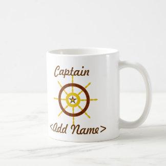 Capitán personalizado Mug Tazas